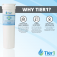 Tier1 Fisher & Paykel 836848 Refrigerator Water Filter Replacement Comparable (Chart 4)