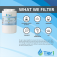 Tier1 Amana 12527304 Refrigerator Water Filter Replacement Comparable (Chart 3)