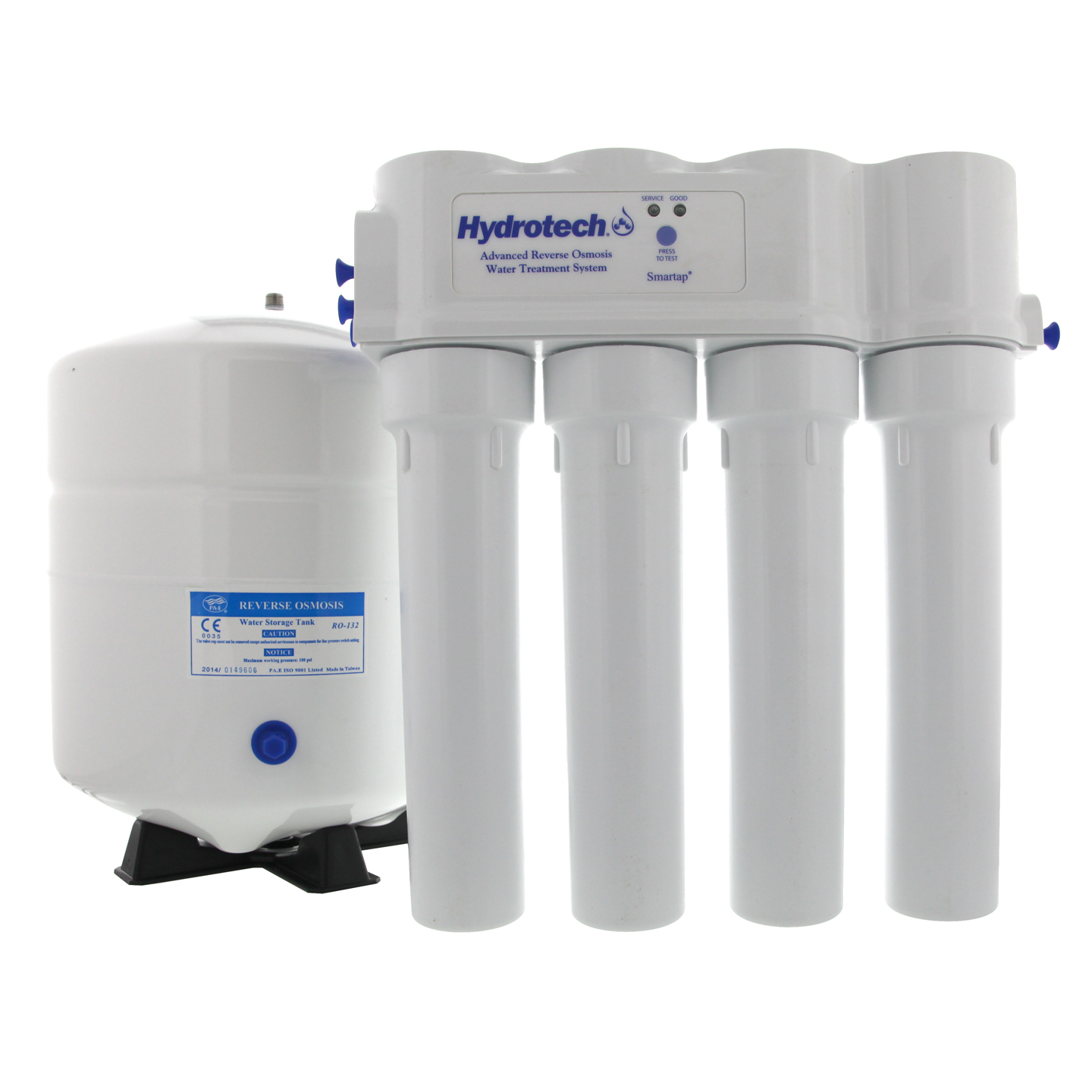 Hydrotech 4VTFC9G-PB Pushbutton Reverse Osmosis System