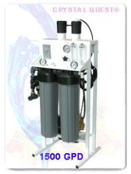 CRYSTAL QUEST Commercial Reverse Osmosis System 1500 GPD