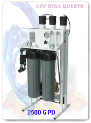CRYSTAL QUEST Commercial Reverse Osmosis System 2500 GPD
