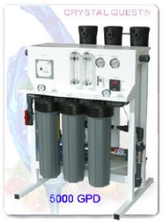 CRYSTAL QUEST Commercial Reverse Osmosis System 5000 GPD