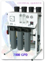 CRYSTAL QUEST Commercial Reverse Osmosis System 7000 GPD