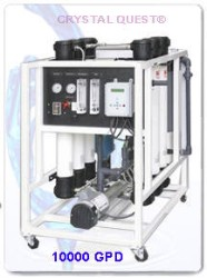 CRYSTAL QUEST Commercial Reverse Osmosis System 10,000 GPD