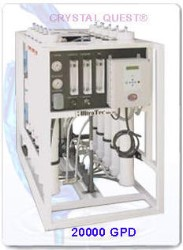 CRYSTAL QUEST Commercial Reverse Osmosis System 20,000 GPD