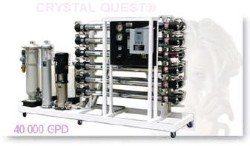 Crystal Quest Commercial Reverse Osmosis 40,000 GPD Water Filter System