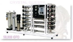 CRYSTAL QUEST Commercial Reverse Osmosis System 50,000 GPD